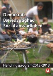 Handlingsprogram 2012 - 2013 - BO-VEST