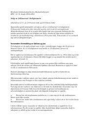 Bindende forhåndsuttalelse fra Skattedirektoratet - Skatteetaten