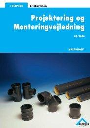 Monteringsvejledning - Glynwed A/S