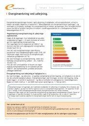 Energimærkning ved udlejning og overdragelse af ... - Energitjenesten