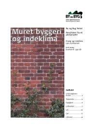 Muret byggeri og indeklima - tænk-i-tegl.dk