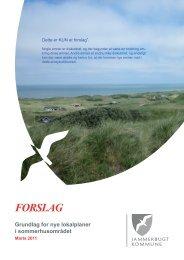 FORSLAG - Saltum Strand Grundejerforening