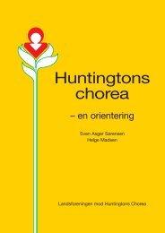 Huntingtons chorea – en orientering - Landsforeningen Huntingtons ...