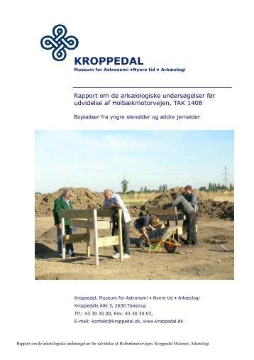 Bygherrerapport TAK 1408 - Kroppedal Museum