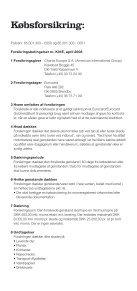 """Forsikringsbetingelser """"KØBSFORSIKRING"""" - Eurocard - Page 2"""