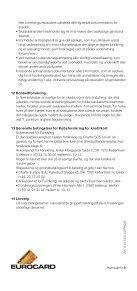 """Forsikringsbetingelser """"KØBSFORSIKRING"""" - Eurocard - Page 4"""