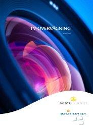 Læs pjece om tv-overvågning. - Datatilsynet