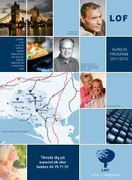 KURSUS- PROGRAM 2011/2012 Tilmeld dig på ... - Næstved - LOF