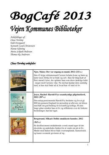 Litteraturliste fra Bogcaféen - Vejen Kommunes Biblioteker