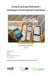"""rapporten """"Et etnografisk studie - Caretech Innovation"""