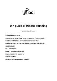 Din guide til Mindful Running her