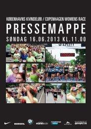 Download pressemappe 2013 - Københavns Kvindeløb