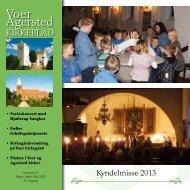 nr. 1 for marts til maj 2013 - Voer og Agersted Sogne