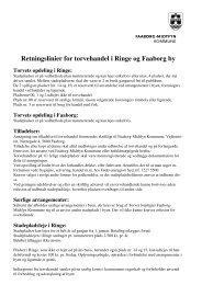 Retningslinjer - Faaborg-Midtfyn kommune