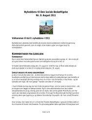 August 2011 - Aktivitetscentret Sundholm