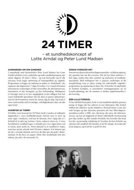 – et sundhedskoncept af Lotte Arndal og Peter Lund Madsen