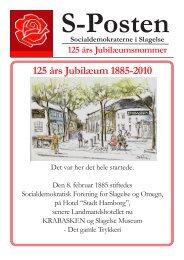 S-Posten 125 år - Slagelse