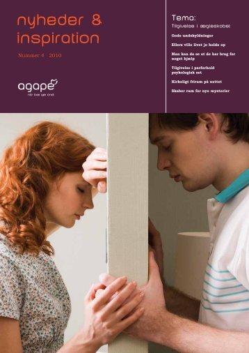 Nyheder & Inspiration 2010, nr. 4 - Agape