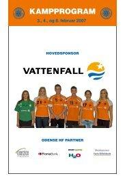 KAMPPROGRAM - Odense Håndbold