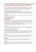 Læs mere om DanCenters tryghedsforsikring her - Page 2