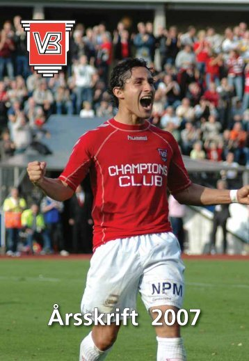 Årsskrift 2007 - Vejle Boldklub