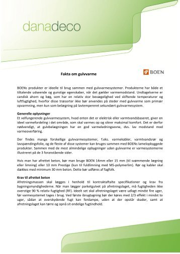 Download som PDF. - Danadeco