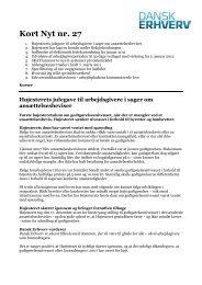 Kort Nyt nr. 27 - Dansk Erhverv