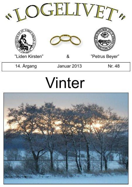 Logelivet januar 2013 - Loge nr. 41 Petrus Beyer, 7700 Thisted