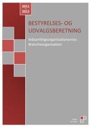 Udvalgs- og Bestyrelsesberetning for 2011 / 2012 - Isobro