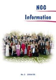 NGG-Information #3 2004-2005 - Nordsjællands Grundskole og ...