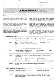 Klik her for at hente Lejekontrakten (PDF) - Lejernes