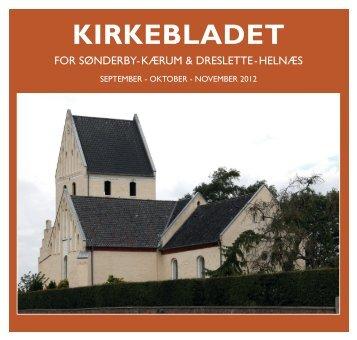 Kirkeblad september-oktober-november 2012 - Sønderby og Kærum ...