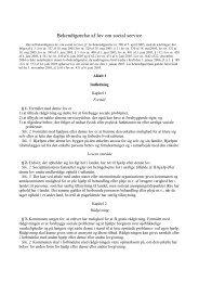L400 lovbekendtgørelse - landsorganisationen danske ...