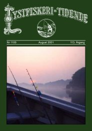 Nr 1100 August 2001 113. Årgang - Lystfiskeriforeningen