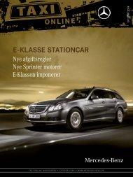 Taxi online 3 09 - Mercedes-Benz Danmark