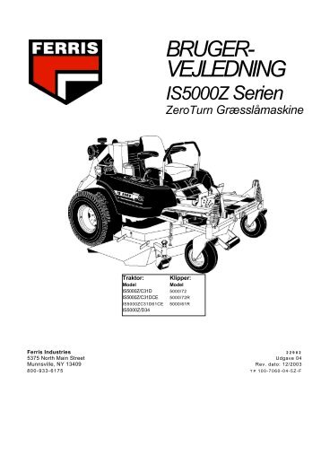 Ferris 5000 - Lyngfeldt A/S