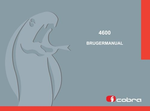 BRUGERMANUAL - Cobra Electronic Systems