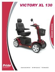 ii. sikkerhed - Pride Mobility Products
