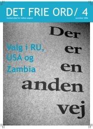 Valg i RU, USA og Zambia - Radikal Ungdom