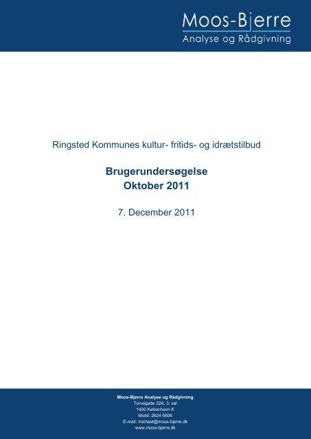 rapporten om Ringsteds kultur-, fritids - Ringsted Bibliotek