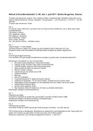 Referat af hovedkredsmødet 2011 - DSU 3. hovedkreds