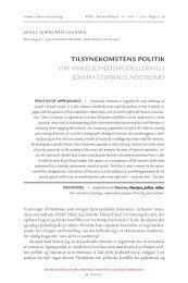 Tilsynekomstens politik - Aarhus Universitetsforlag