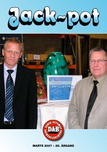 MARTS 2007 – 25. åRgAng - Dansk Automat Brancheforening: DAB