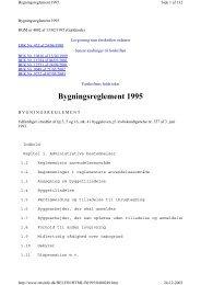 Bygningsreglement 1995