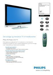 32HF5445/10 Philips Professionelt LCD-TV med Pixel Plus HD