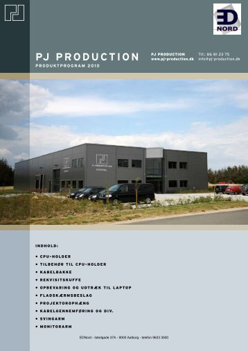 EDNord - PJ Production Kalalog 2010 - Ergonomi mm