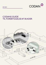 codans guide til forebyggelse af skader - Codan Forsikring A/S