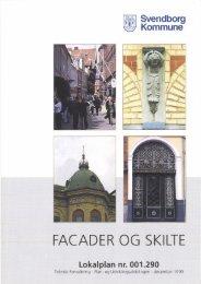 Lokalplan for facader og skilte - Svendborg kommune