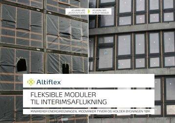 FLEKSIBLE MODULER TIL INTERIMSAFLUKNING - spin