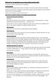 Referat af generalforsamling 2011